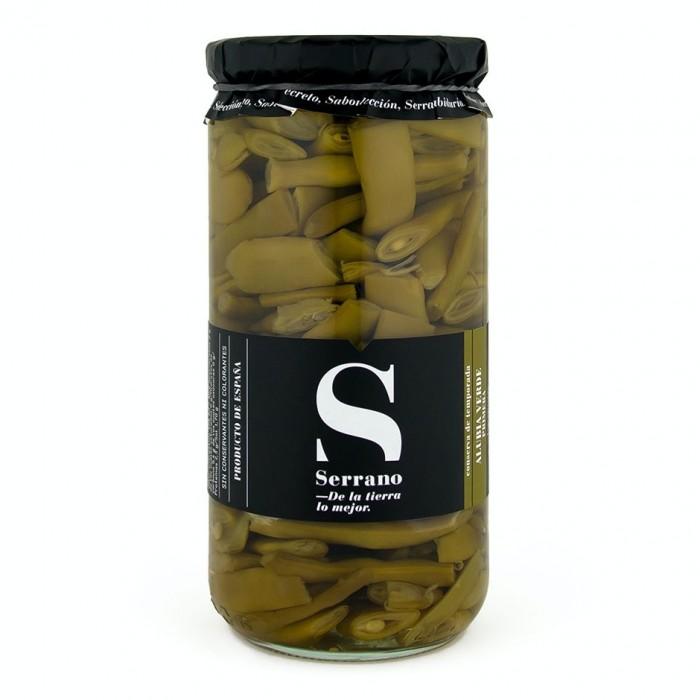 Alubias verdes extra, 6 frascos de Kilo