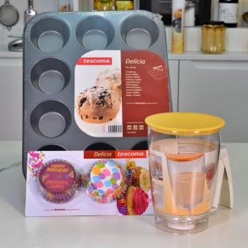 KIT para hacer magdalenas o cupcakes