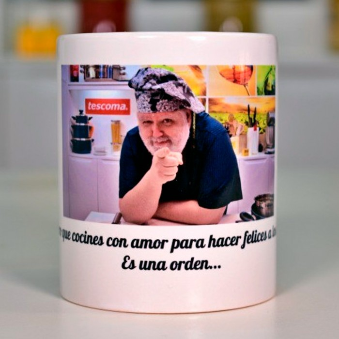Taza decorada oficial de Cocina familiar