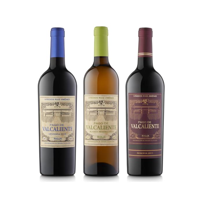 Lote de 3 vinos Pago de Valcaliente