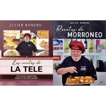 Lote de libros a precio especial con vídeos en cada receta