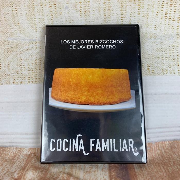 DVD con 12 recetas de bizcochos