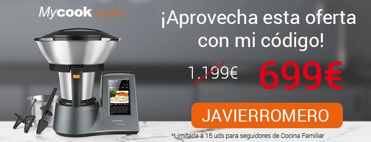 Oferta Robot de cocina MyCook Touch de Taurus por 699 €