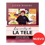 Libro de cocina Javier Romero