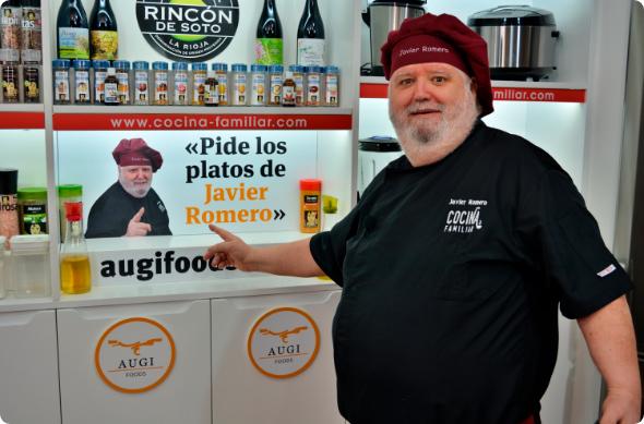 Pide los platos de Javier Romero